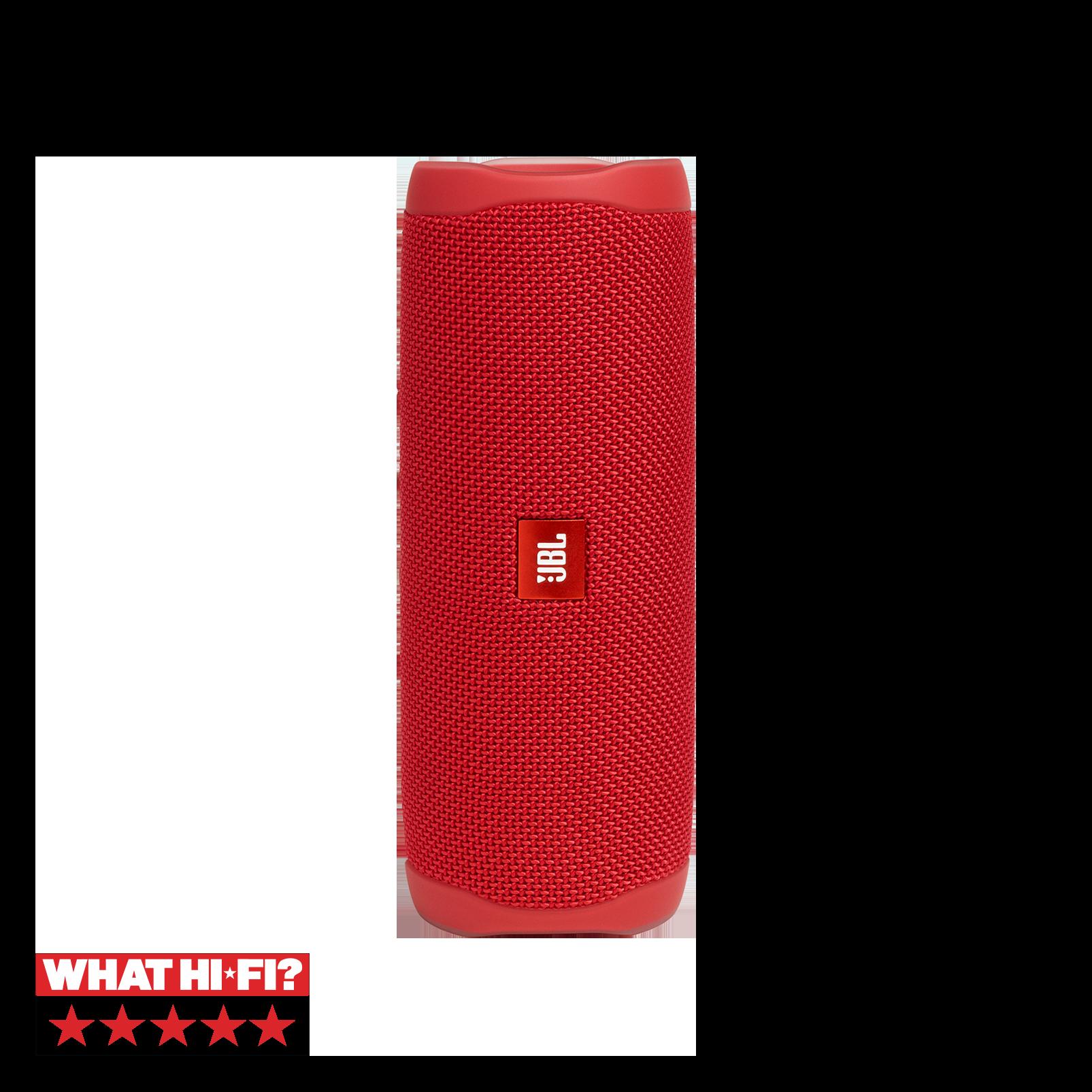 JBL FLIP 5 - Red - Portable Waterproof Speaker - Hero